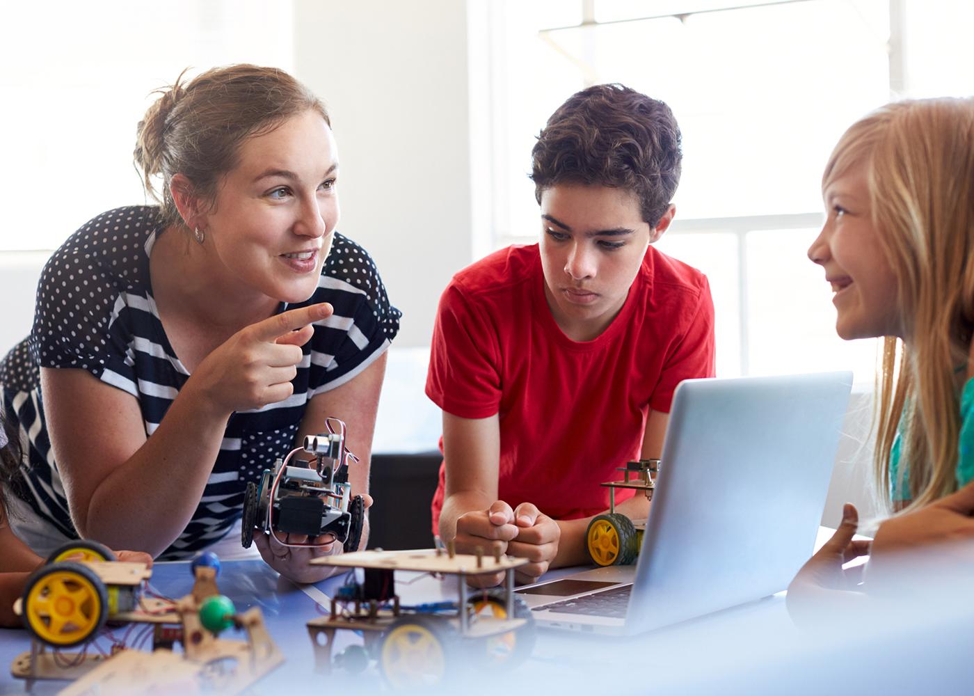estudantes e tecnologia