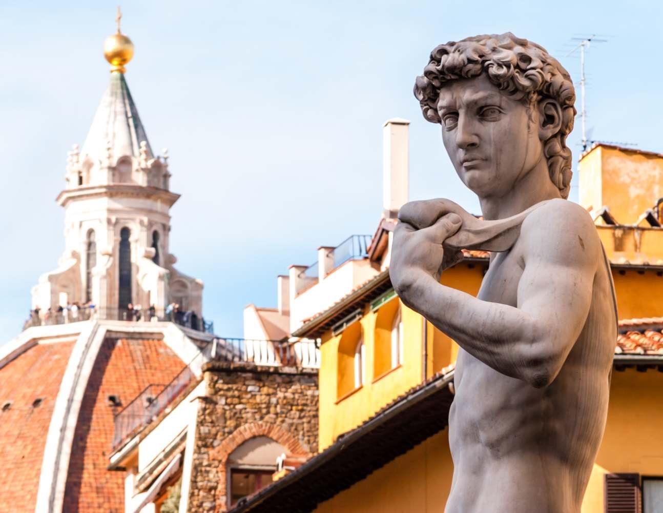 Estátua de David em Florença