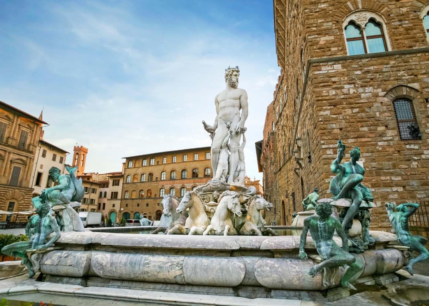 Fonte em Florença