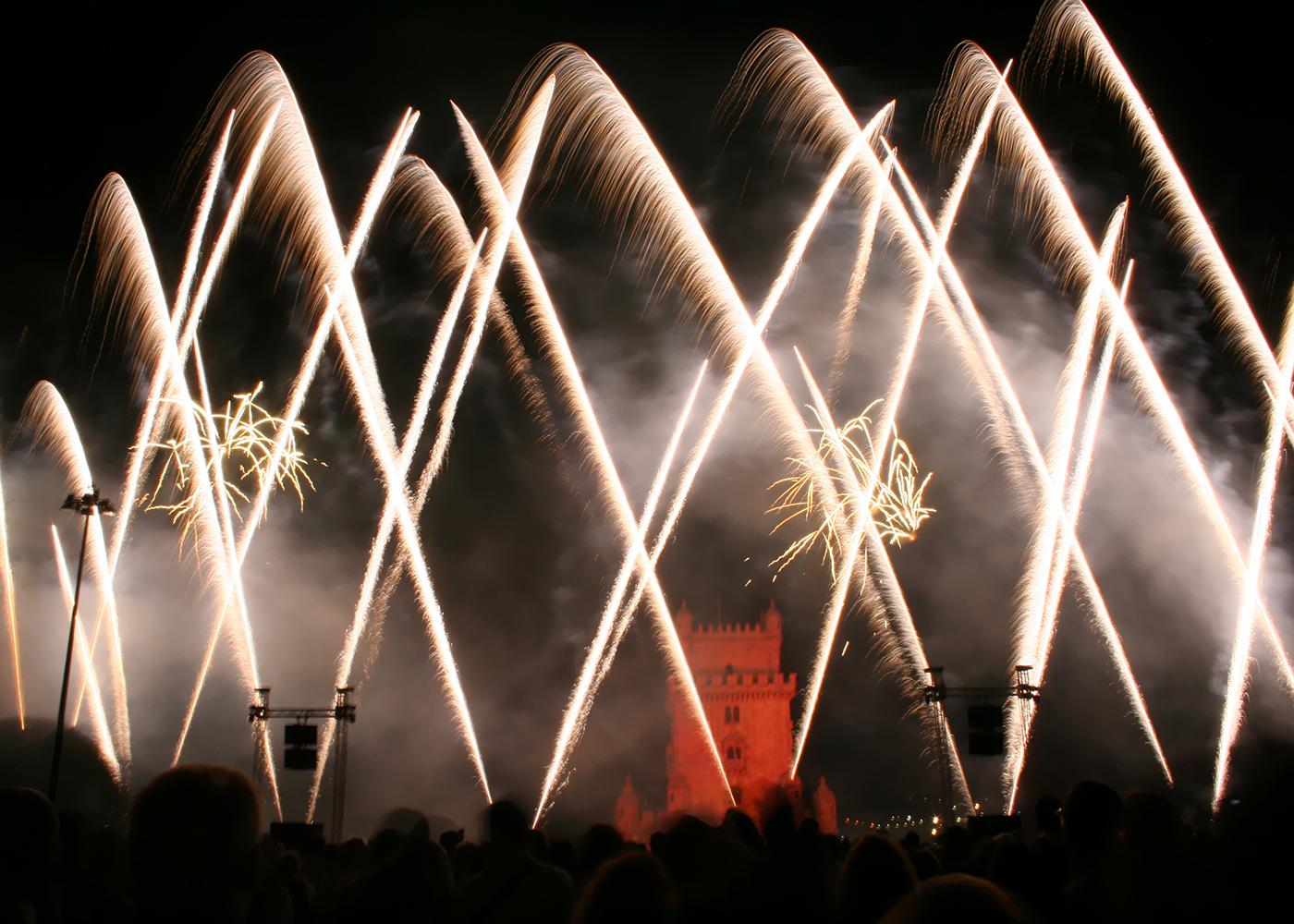 fogo de artifício lisboa