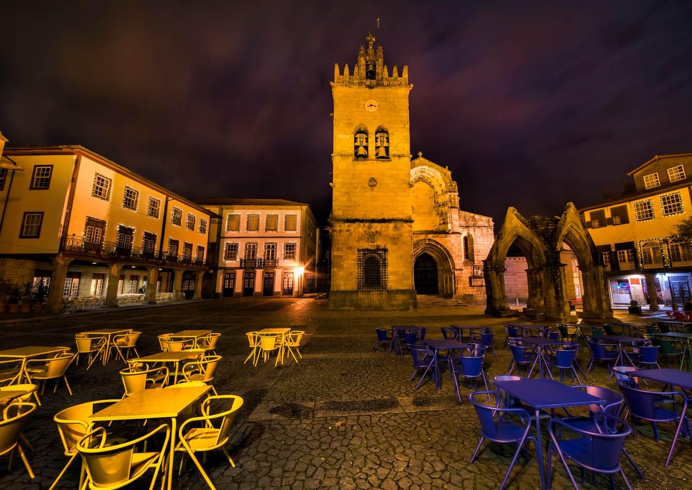 Praça da Oliveira em Guimarães
