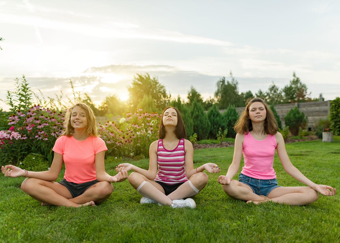 meditação jovens