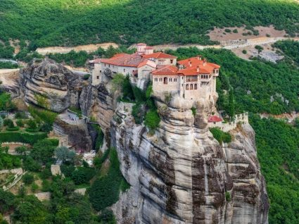 Cidade de Metéora na Grécia