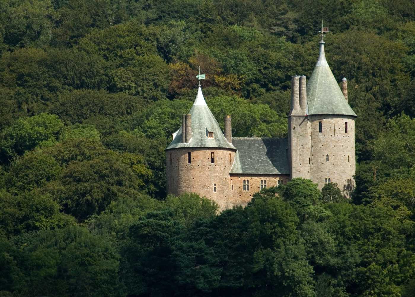 Palácio no País de Gales