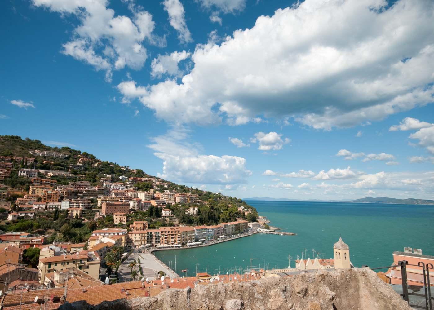 Porto de Santo Stefano na Toscana