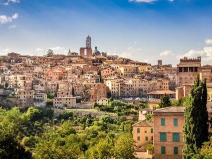 arquitetura toscana de Siena