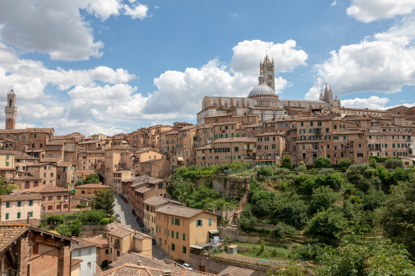 paisagem de Siena