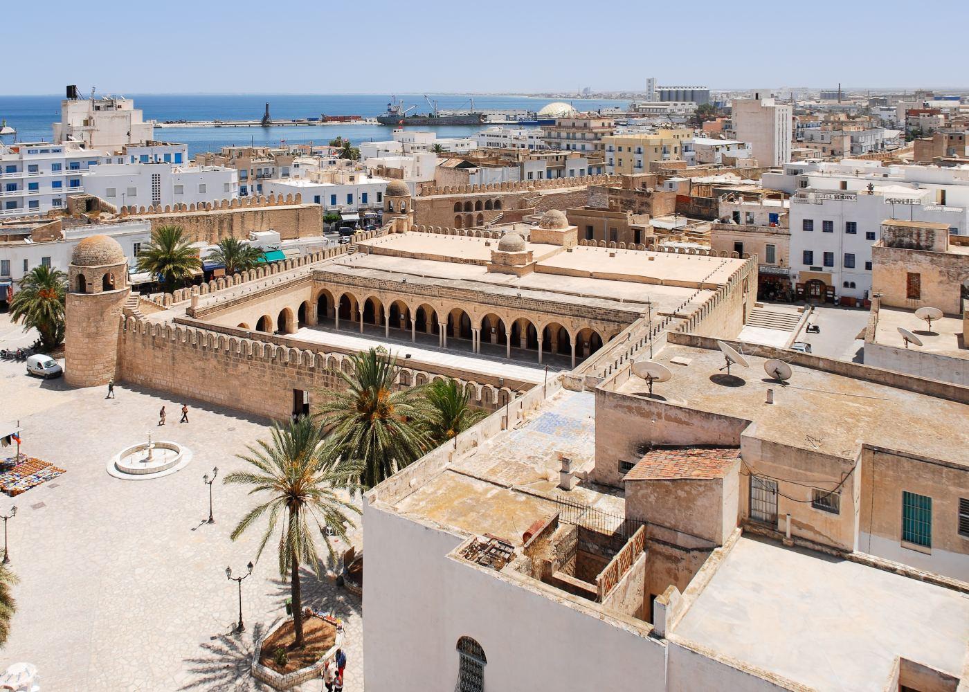 Vista geral de Sousse