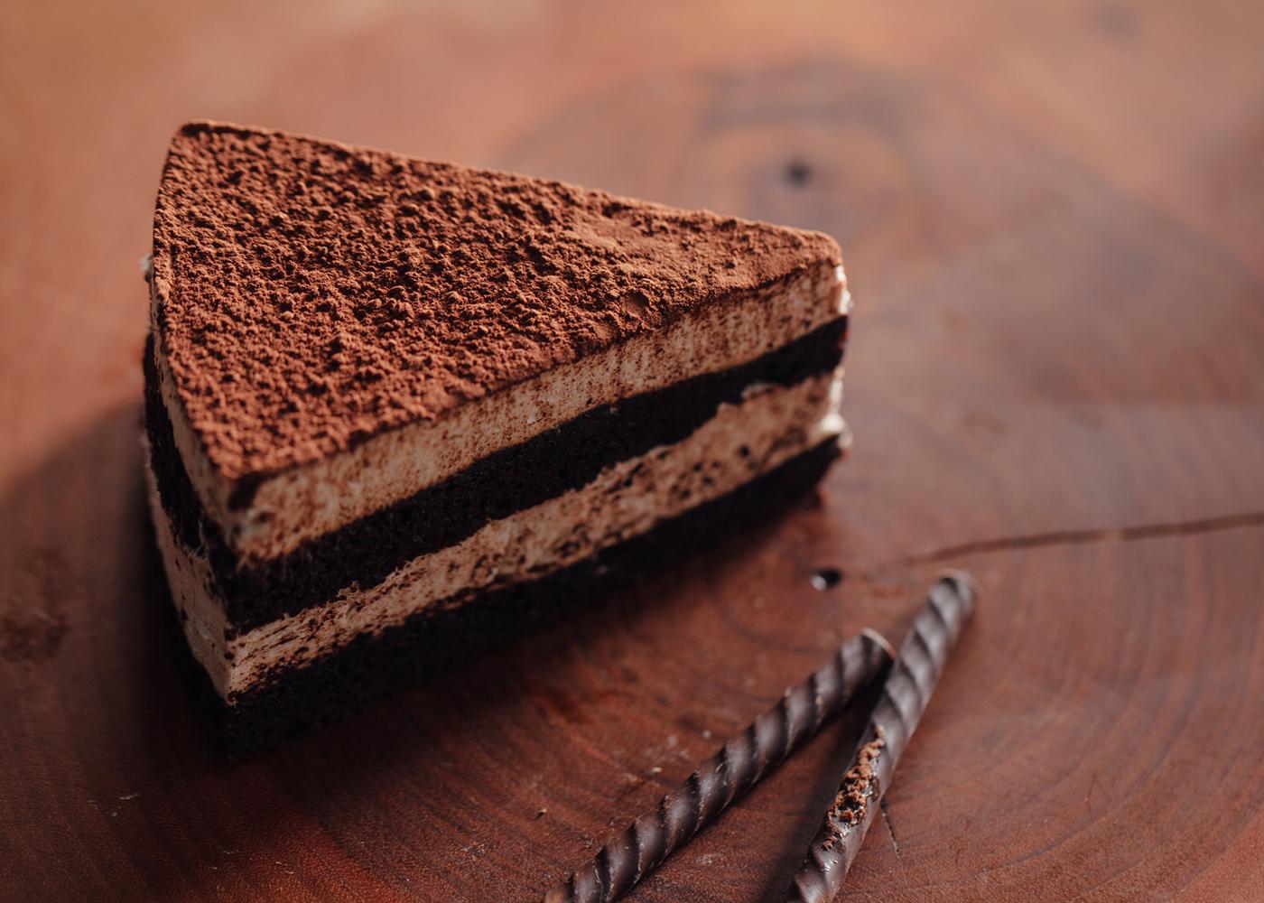 Tiramisu de chocolate e avelã