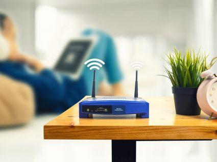 Casa com sistema wireless