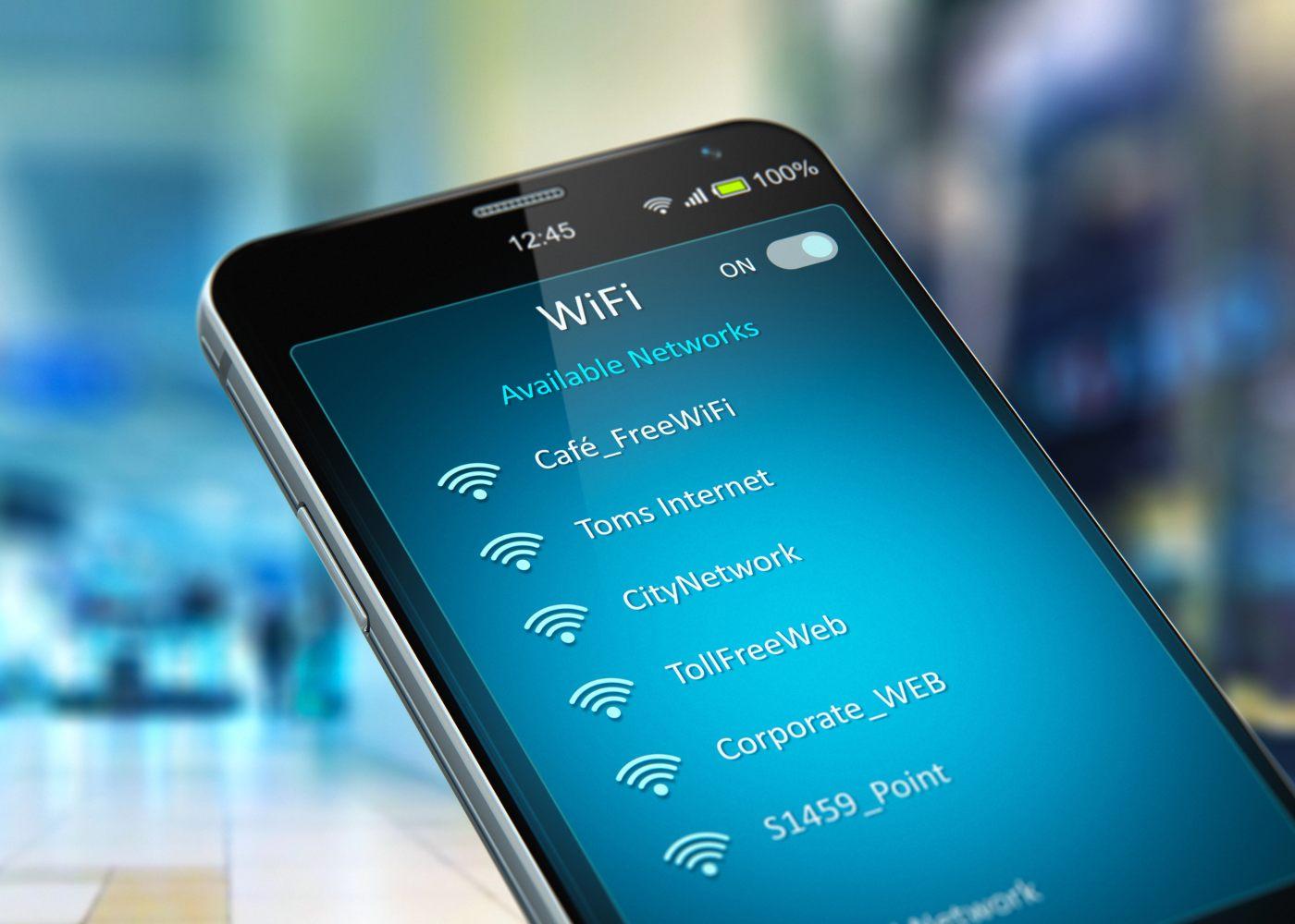 Smartphone com wireless