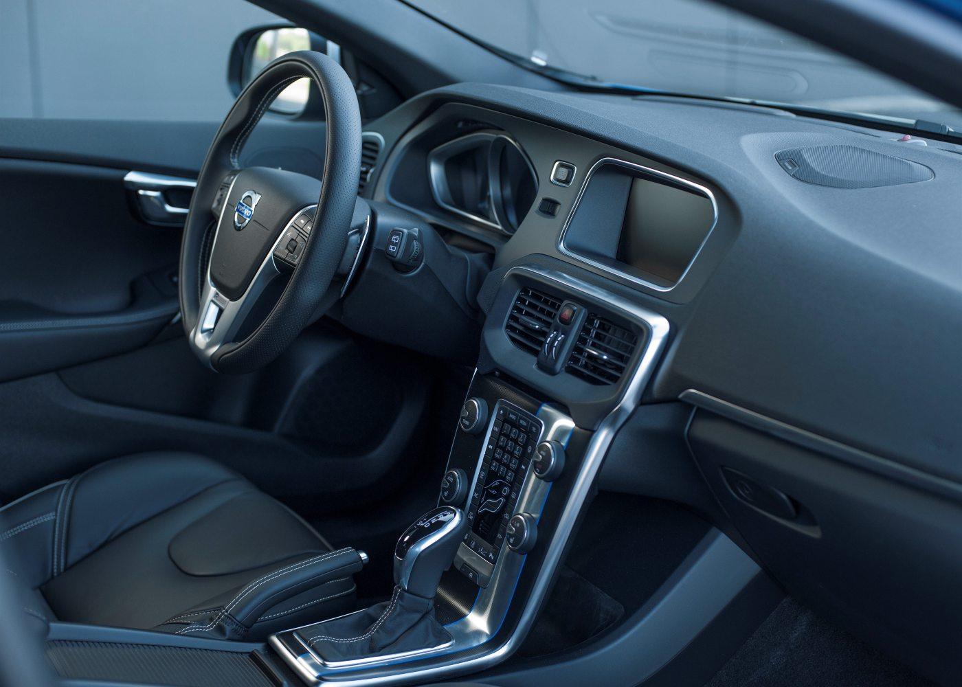 Interior do Volvo V40