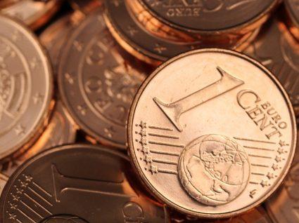 Eliminação das moedas de um e de dois cêntimos
