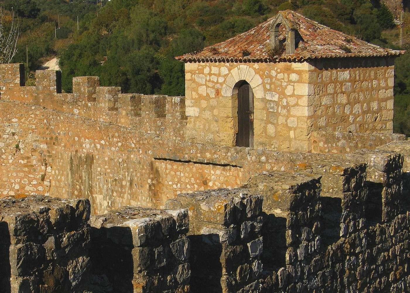 Castelo de Alenquer na região de Lisboa