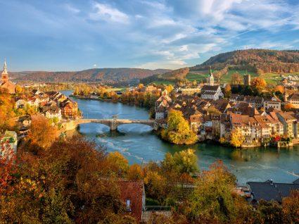 Vista da região de Basileia