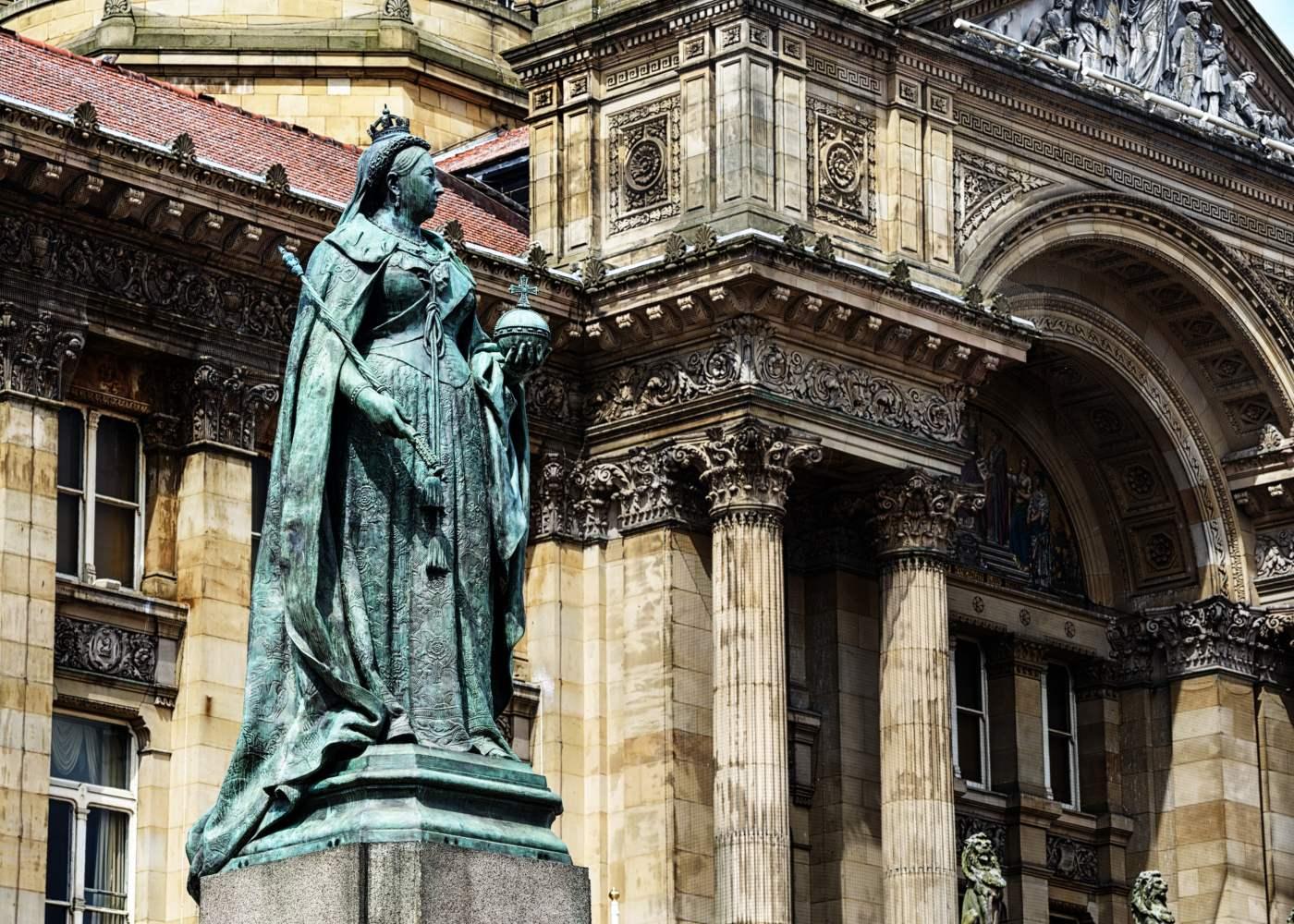 Estátua da rainha Vitória em Birmingham