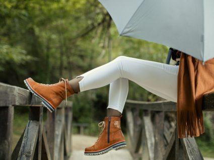 Mulher com botas