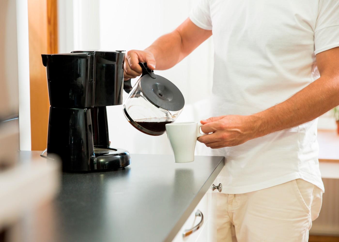 Café solúvel pela manhã