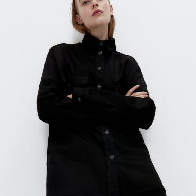camisa preta uterque