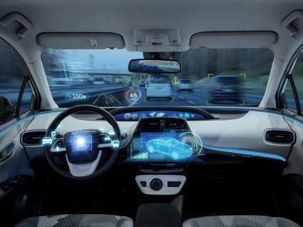 tablier de carro do futuro
