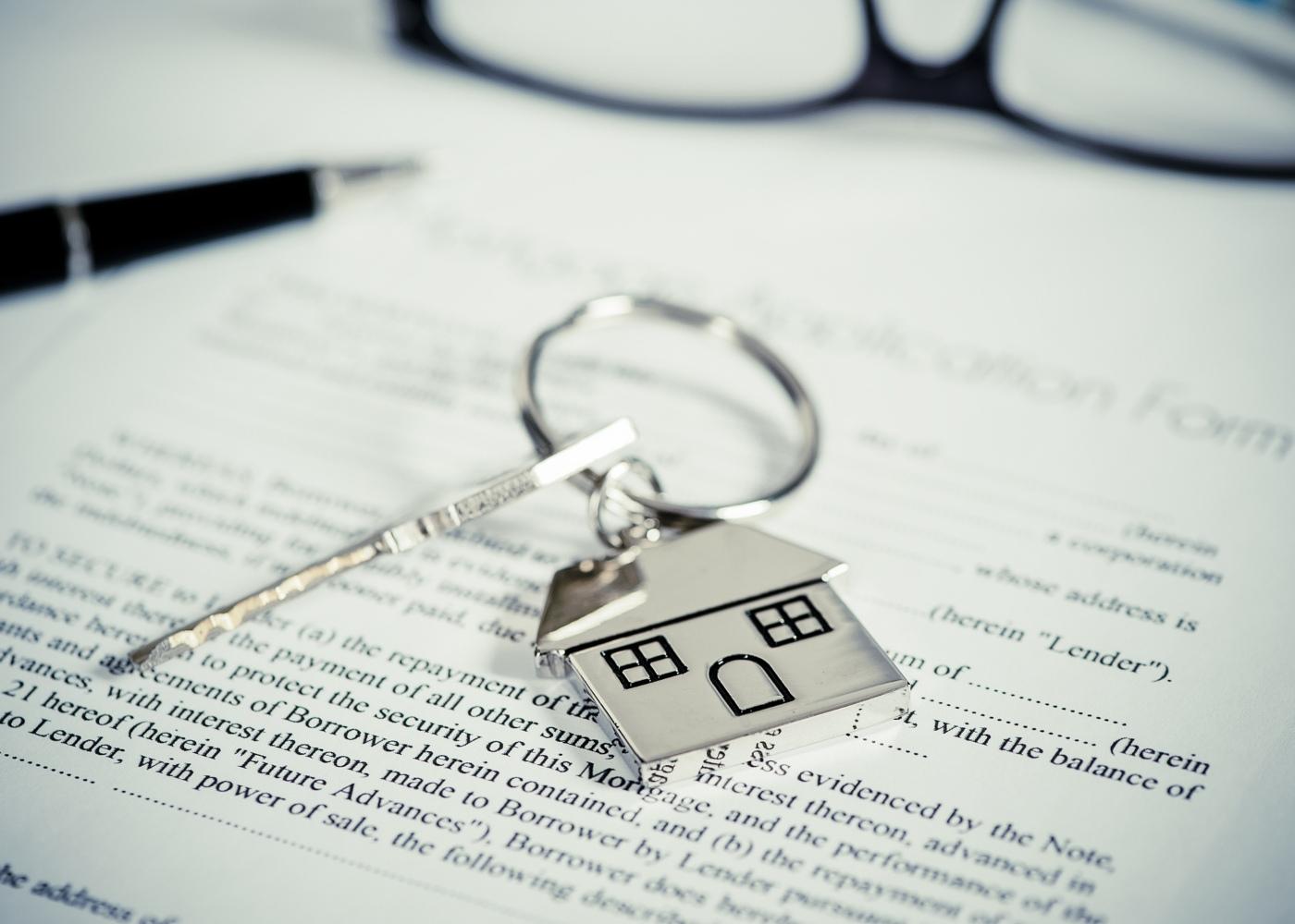 chaves contrato casa