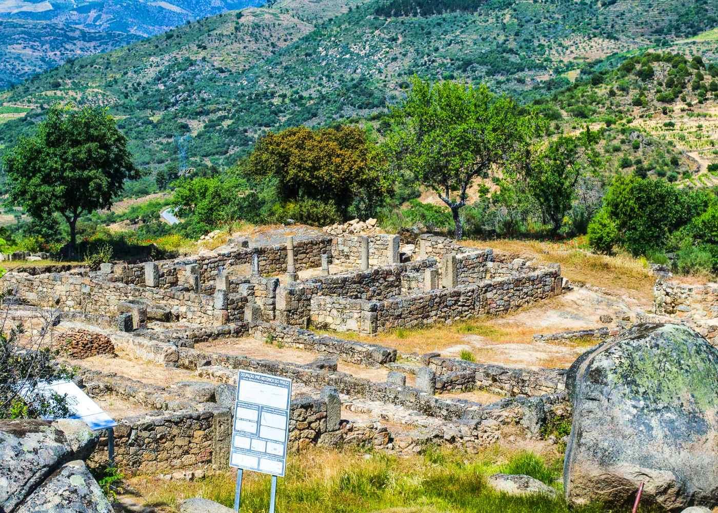 Espaço arqueológico em Freixo de Numão