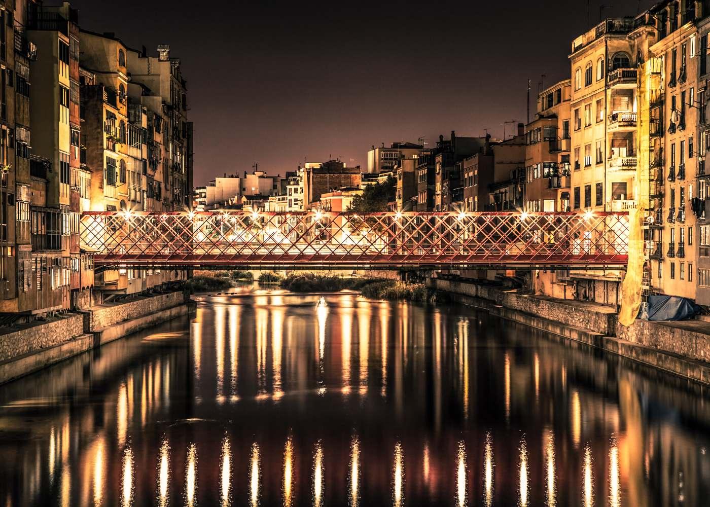 Rio Onyar em Girona