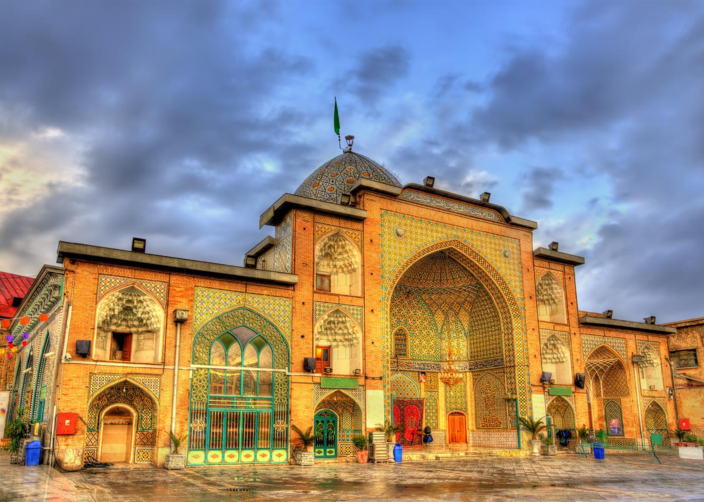 Mercado em Teerão