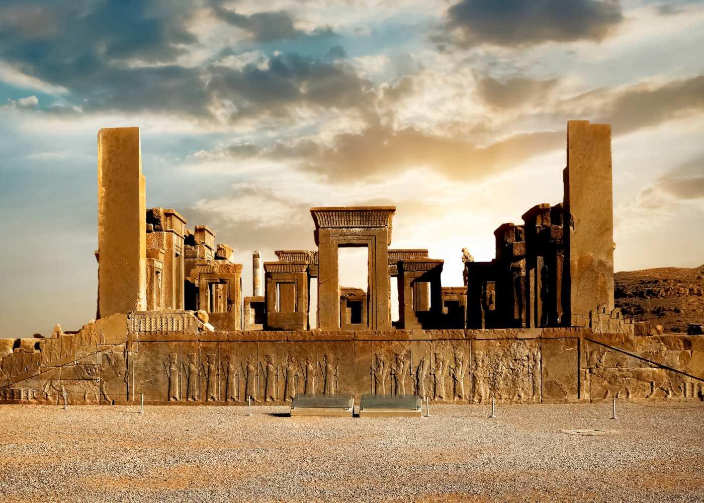 Ruínas de Persepolis no Irão