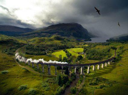Comboio britânico The Jacobite