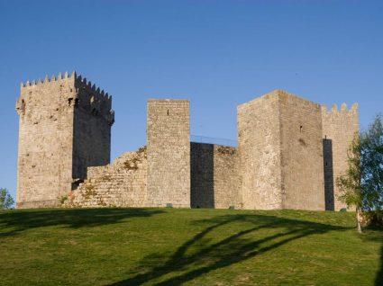 Castelo de Montalegre cidade da feira do fumeiro