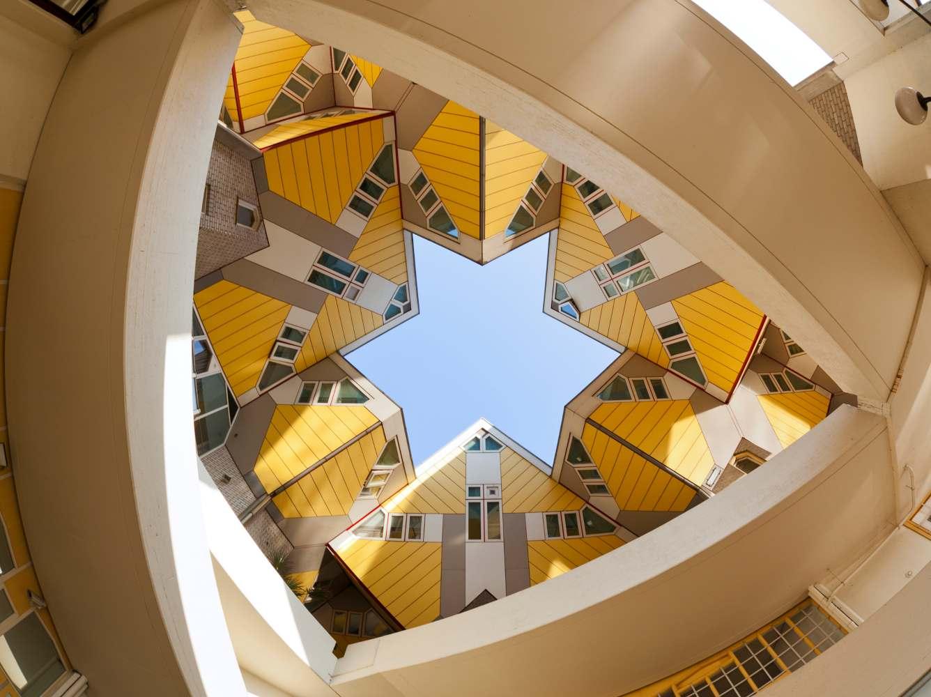 Casa dos cubos em Roterdão