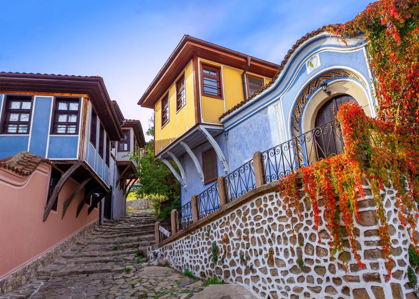 Cidade antiga de Plovdiv