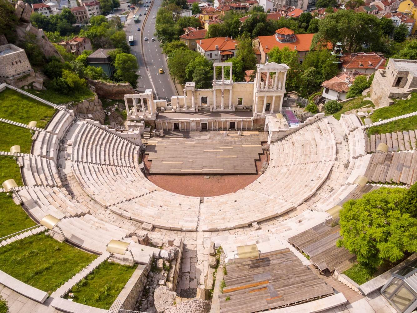 Templo romano em Plovdiv