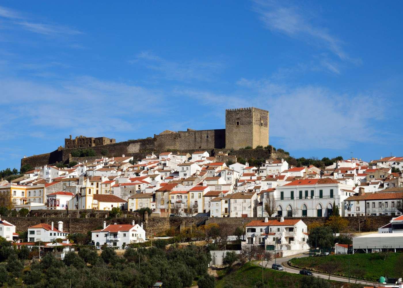 Panorâmica de Castelo de Vide