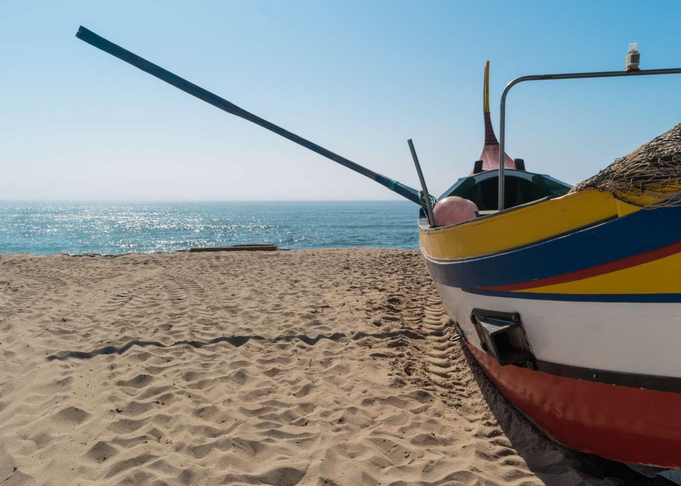 Barco de arte xávega
