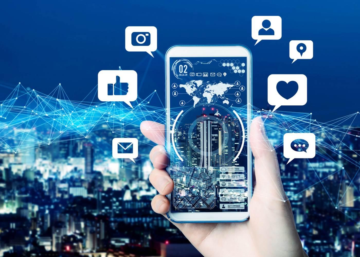 Redes sociais no 5G
