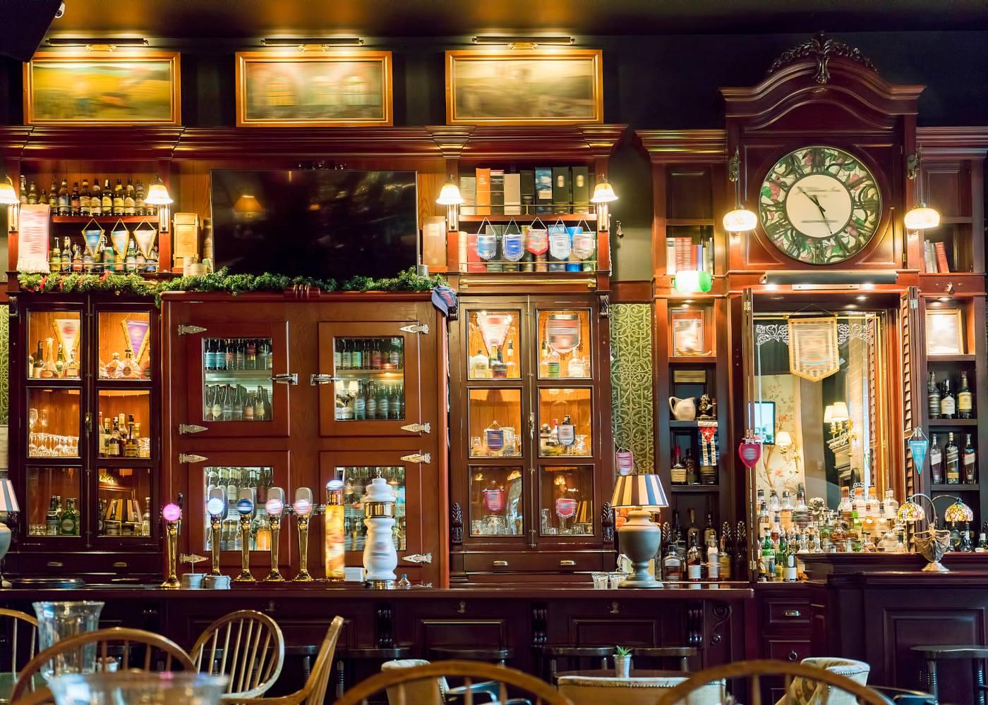 Aspecto de pub em Londres