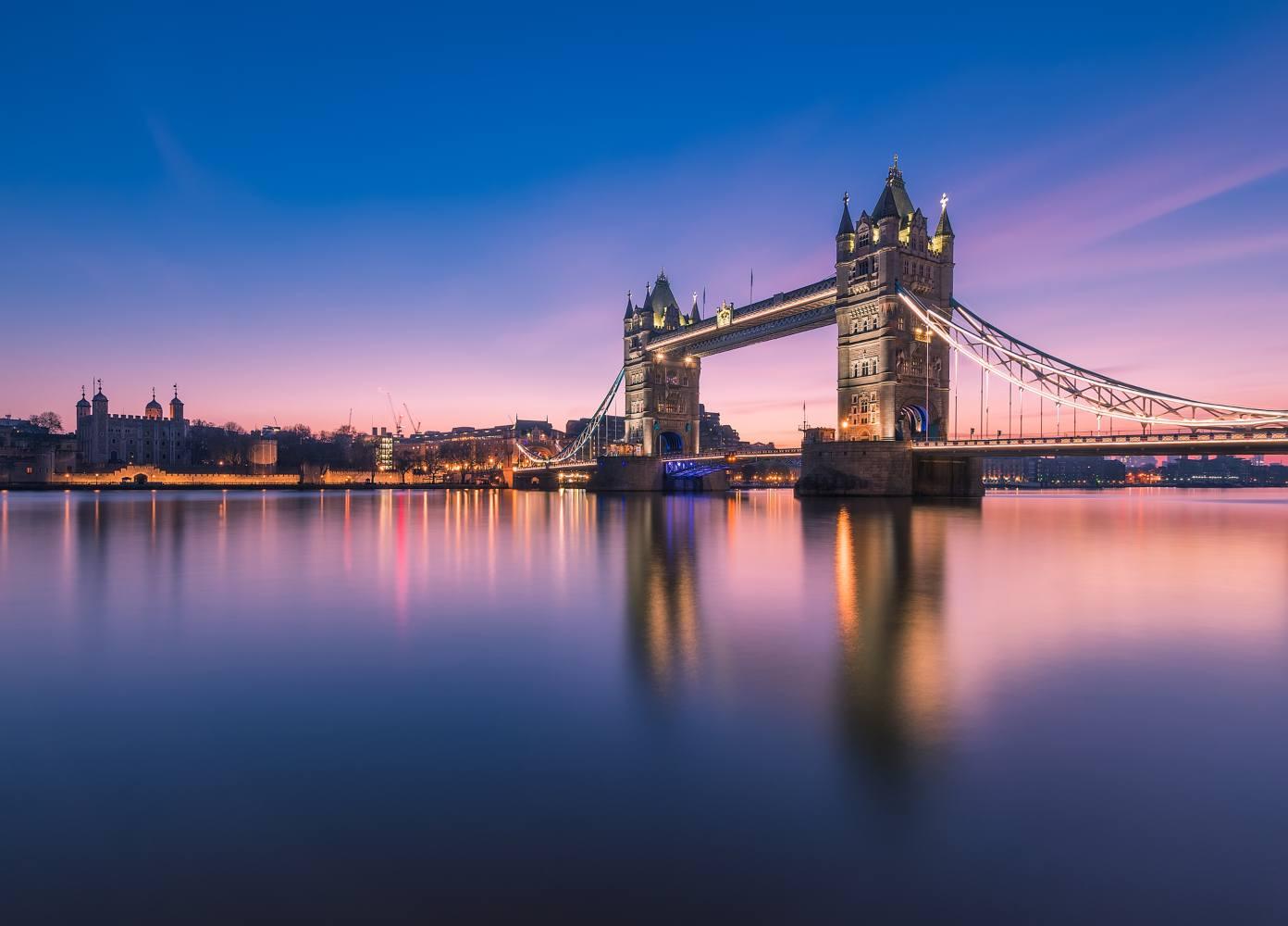 Vista da Torre de Londres