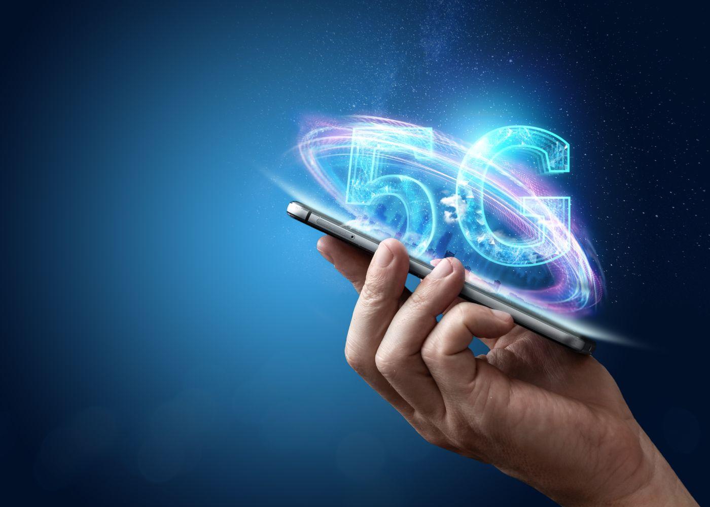 Smartphone para desmistificar o 5G