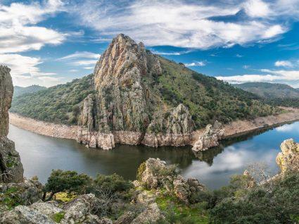 Vista do Tejo Internacional em Espanha