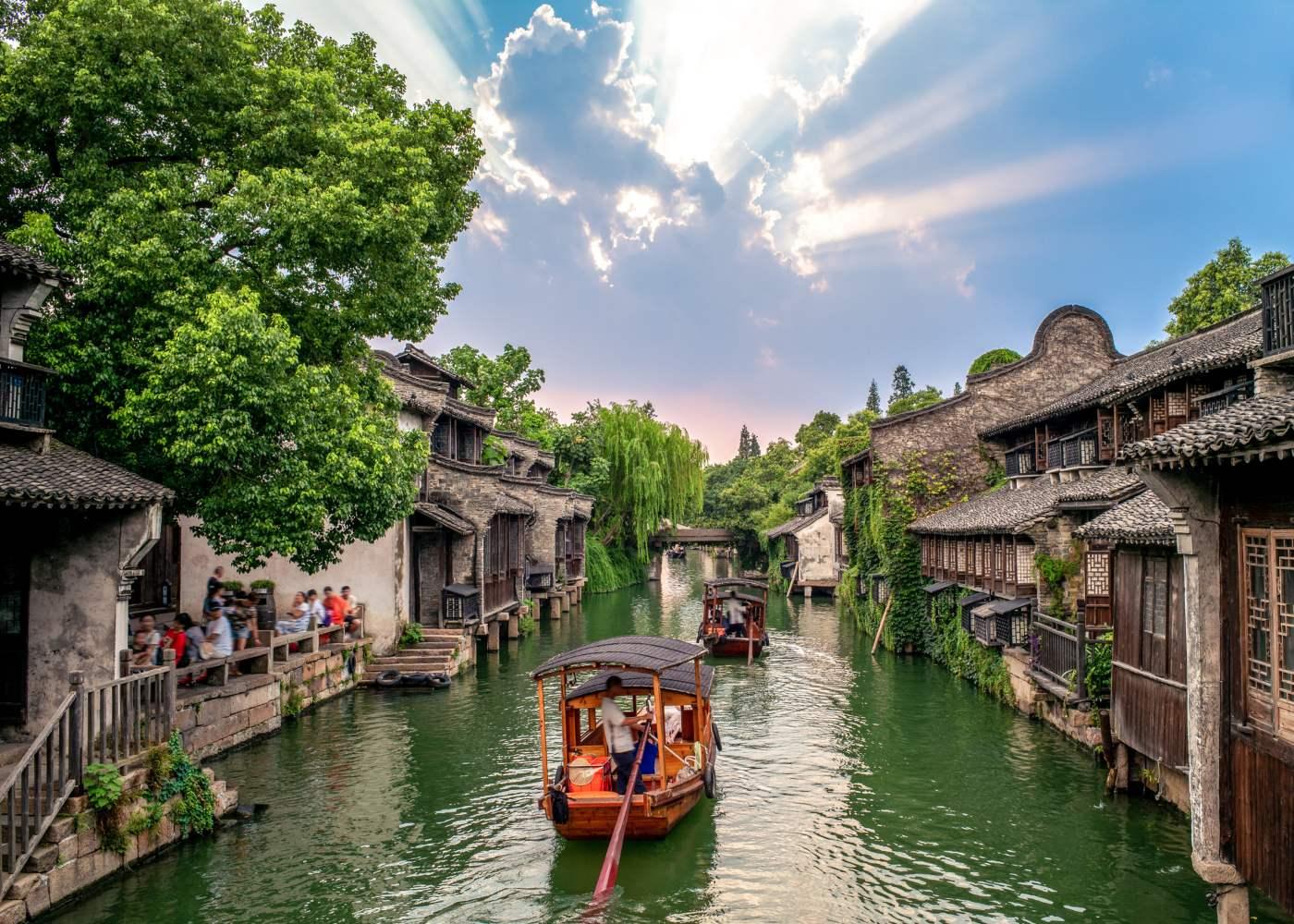 Water town na China