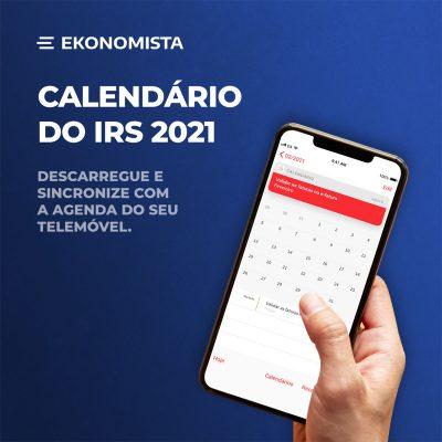 Calendário IRS 2021