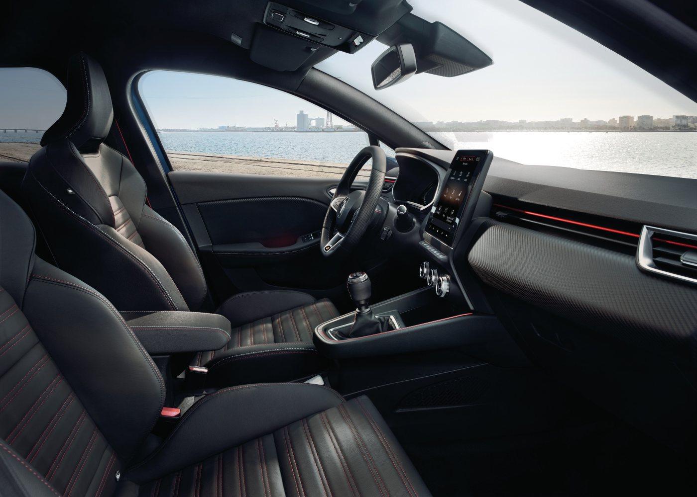 Interior Novo Renault Clio