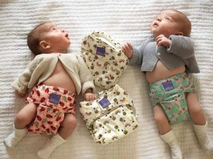 bebés com fraldas bambino mio