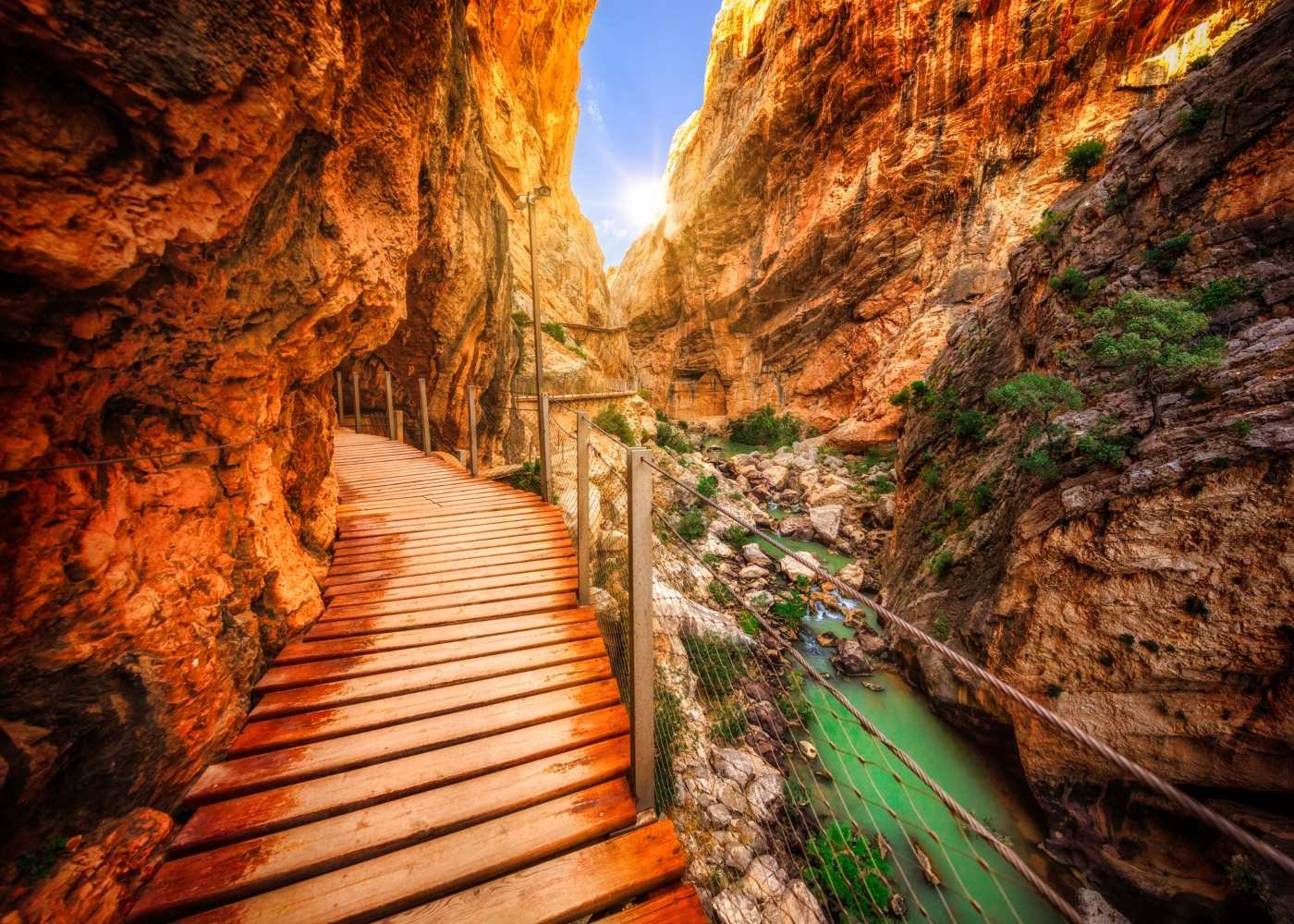 Percurso do caminito del Rey