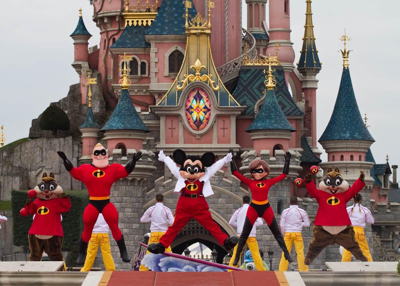 Os invencíveis na Disneyland Paris
