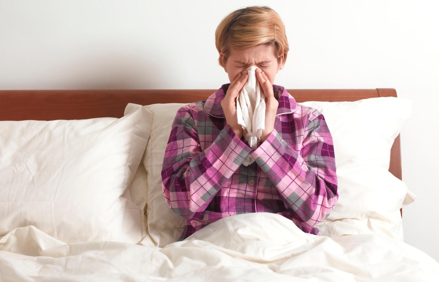 estar gripado