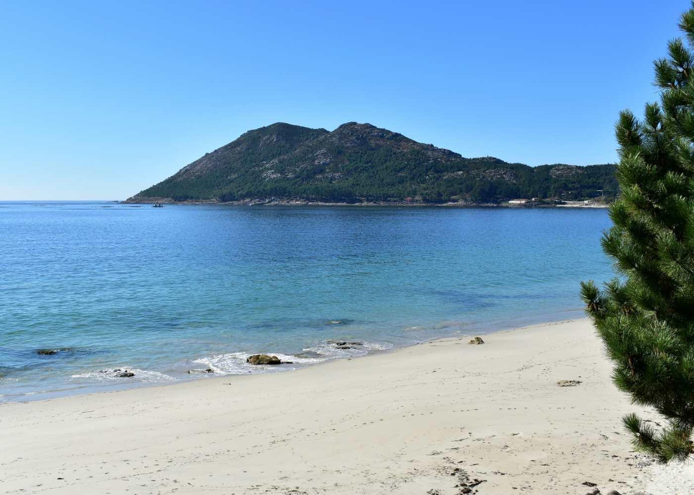 Praia em O Grove