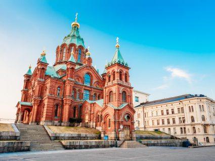 catedral vermelha em Helsínquia